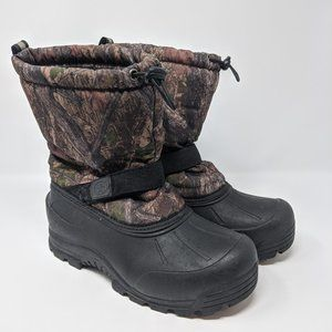 Northside Kids Camo Insulated Winter Boots Size 7Y